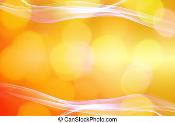 yellow orange circles.abstract image