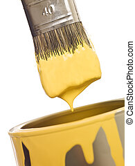 Yellow Paintbrush close up