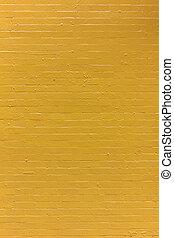 Yellow Painted Brick Wall