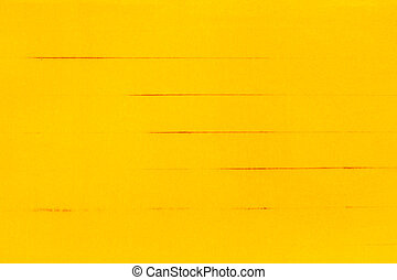 Yellow paper background
