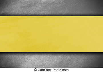 yellow paper on white wall