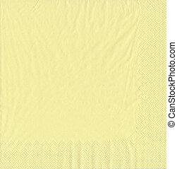 paper towel (napkin) texture - yellow paper towel (napkin)...