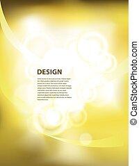 yellow peresentation background wit