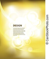 yellow peresentation background wit