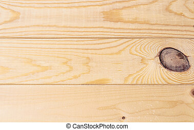 Yellow pine board background