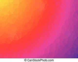 yellow pink geometric background