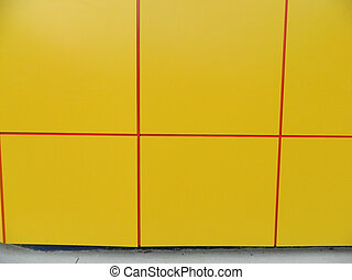 Yellow plates