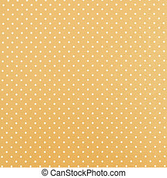 Yellow polka dot background - Yellow background with polka ...