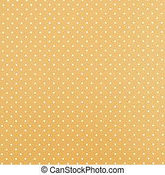 Yellow polka dot background - Yellow background with polka ...
