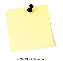 Yellow Post-It To-Do List Sticker