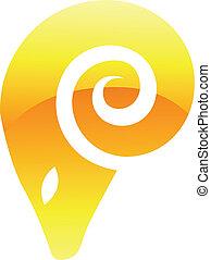 Yellow Ram Icon