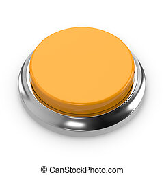 Yellow round blank button
