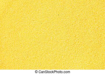 Yellow sand background