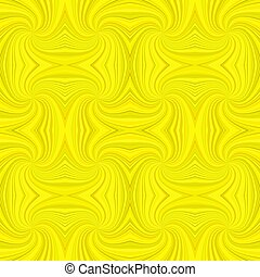 Yellow seamless abstract hypnotic spiral stripe pattern background