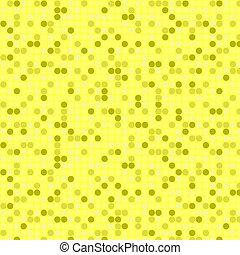 Yellow seamless mosaic background