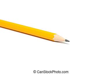 Yellow sharp pencil