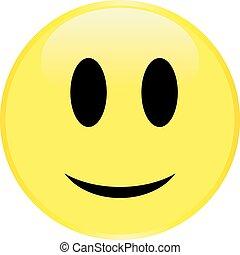 Yellow smiley face