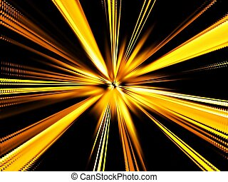 Yellow Sparkles Background