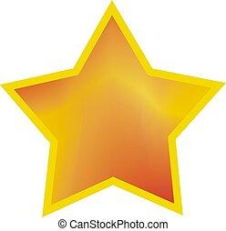 yellow star illustration