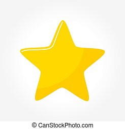 Yellow star icon.