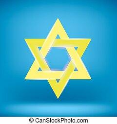 Yellow Star of David