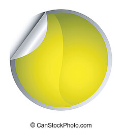 yellow sticker - postit