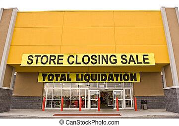 Yellow Store Closing