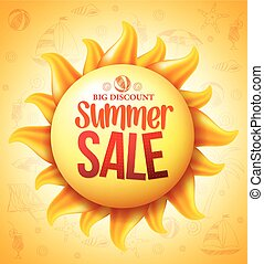 Yellow Sun Summer Sale Discount