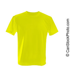 yellow t-shirt - yellow T-shirt ?an be used as design...