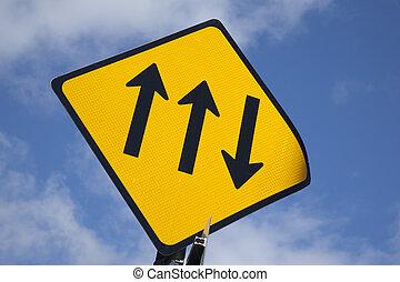 Three Arrow Sign