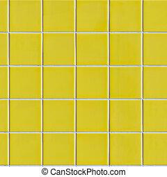 Yellow Tiles. Seamless Texture.