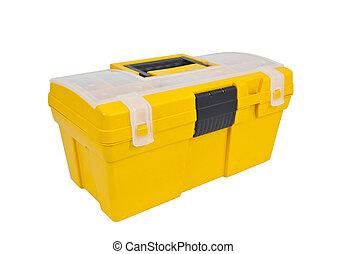 Yellow Tool Box