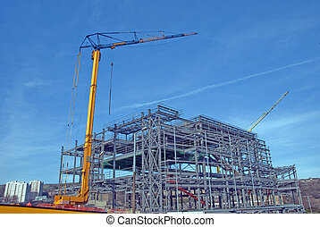 Tower Cranes and Steelwork