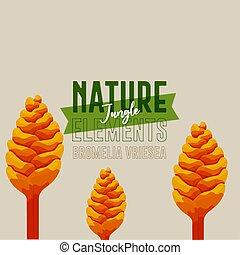 Yellow trees nature jungle