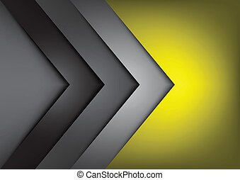 Yellow vector background overlap dimension