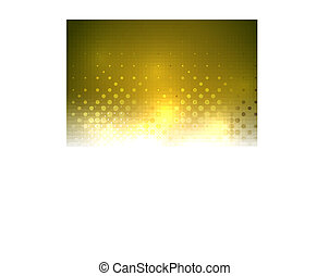 Yellow vector textured shiny abstract background