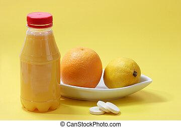 Yellow vitamins 1