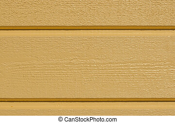 Yellow wall - Close up on a yellow painted wooden wall