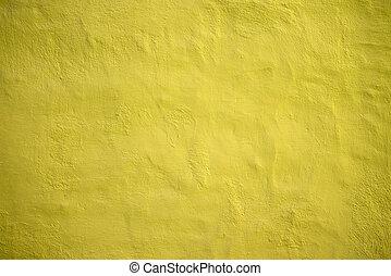 Yellow wall grungy background