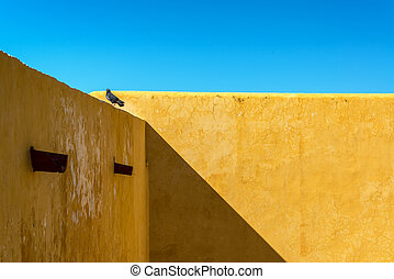 Yellow Wall in a Fort