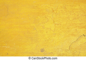 yellow wall texture - perfect grunge background with space...