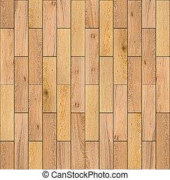 Yellow Wood Parquet Floor. Seamless Texture. - Yellow Wood...