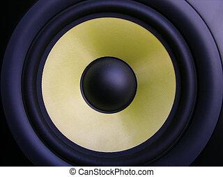 Yellow Woofer - Membrane Speaker
