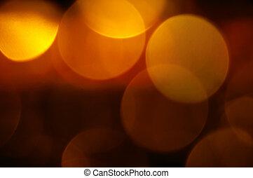 abstract lights - yellowish abstract lights