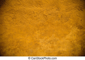 yellowish aged wall
