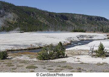 Yellowstone Grand Tetons Geyser