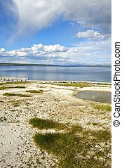 Yellowstone Lake and West Thumbs Area. Yellowstone National ...