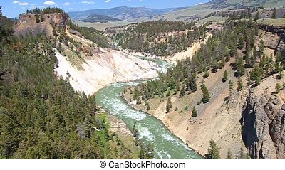 Yellowstone National Park Rapids