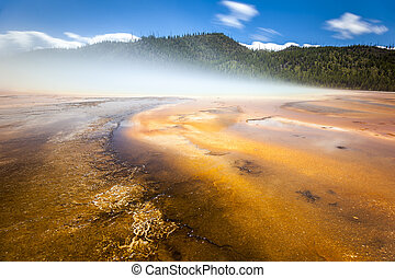 Yellowstone National Park, Utah, USA - Grand Prismatic...