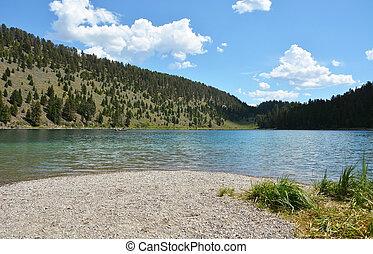 Yellowstone, nazionale, parco, lago